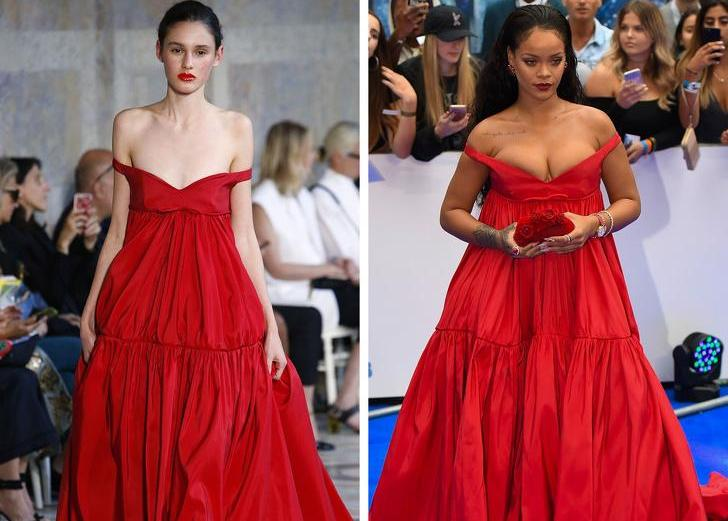 21 Runway Outfits That Look Totally Different on Models and Celebrities